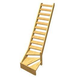 Neuf d ball mais pas install car erreur d 39 achat Escalier quart tournant haut pas cher