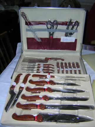 Malette marron de couteaux pradel excellence 24 pi ces - Malette de couteaux pradel excellence 25 pieces ...