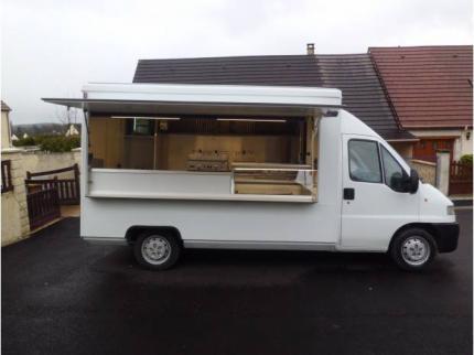 camion snack food truck fiat ducato 2 8 d. Black Bedroom Furniture Sets. Home Design Ideas